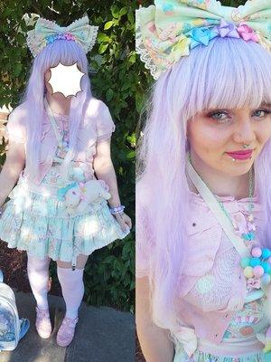 Pocket's 「Angelic pretty」themed photo (2018/01/05)