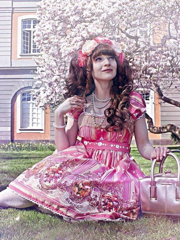 Nyankoshi's 「Sweet lolita」themed photo (2018/01/08)