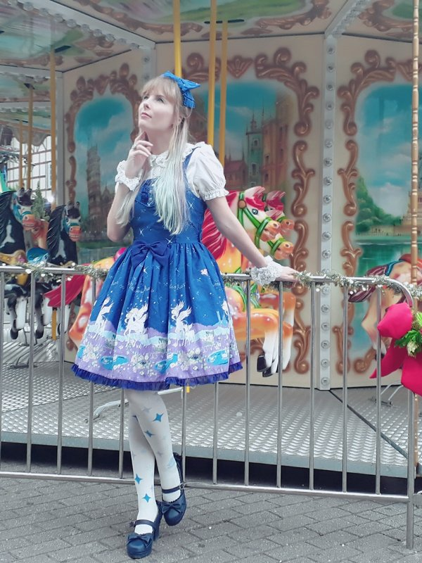 是Ichigo Fujiwara以「Lolita fashion」为主题投稿的照片(2018/01/10)