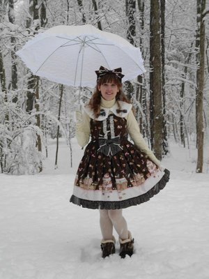 Stef in the Forest's 「winter wonderland」themed photo (2018/01/18)