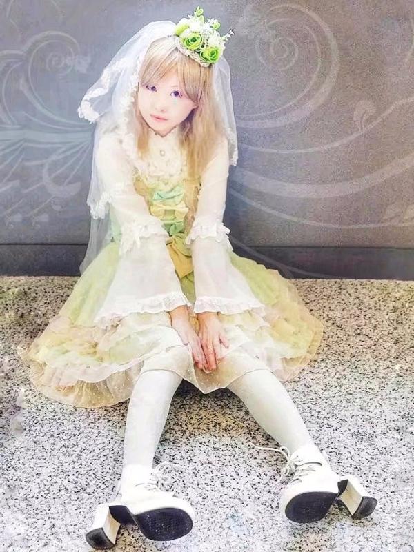 Yushiteki's 「Sweet lolita」themed photo (2018/01/18)
