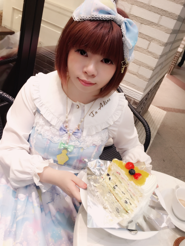 himeの「Lolita」をテーマにしたコーディネート(2018/01/20)