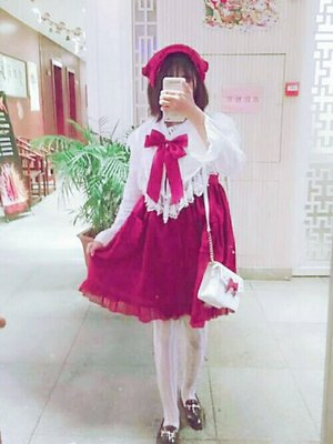 荼荼酱's 「Lolita fashion」themed photo (2018/01/20)