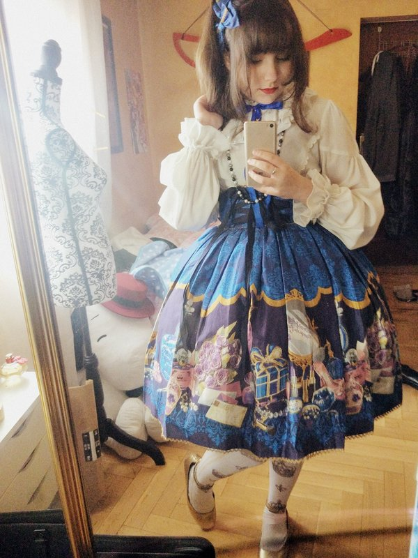 Byakko-tan's 「Lolita fashion」themed photo (2018/01/21)