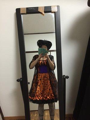 風魔の杏里の「エクサントリーク」をテーマにしたファッションです。(2016/10/07)