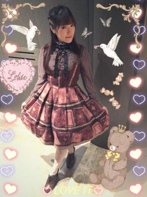 Aricy Mist 艾莉鵝の「Lolita」をテーマにしたコーディネート(2018/01/23)