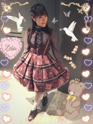 Aricy Mist 艾莉鵝's 「Lolita」themed photo (2018/01/23)