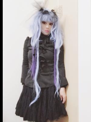 惨遊夢 闇音の「Lolita」をテーマにしたファッションです。(2018/01/28)