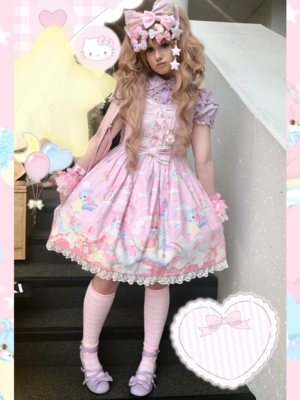 Pixy's 「Lolita」themed photo (2018/02/01)