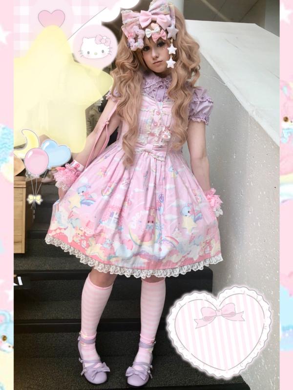 Pixy's 「Lolita」themed photo (2018/02/01)