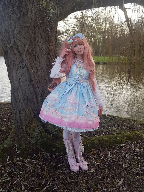 Mew Fairydoll's 「Lolita fashion」themed photo (2018/02/09)