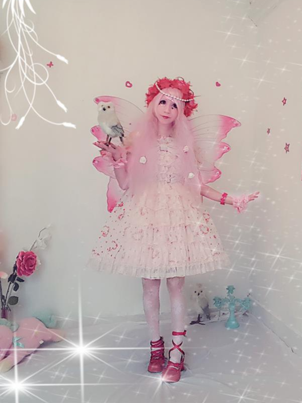 Mew Fairydoll's 「Angelic pretty」themed photo (2018/02/10)