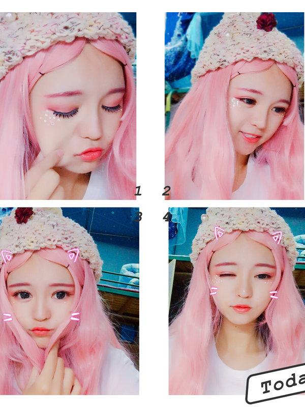LS像糖一样の「Pink」をテーマにしたコーディネート(2018/02/12)