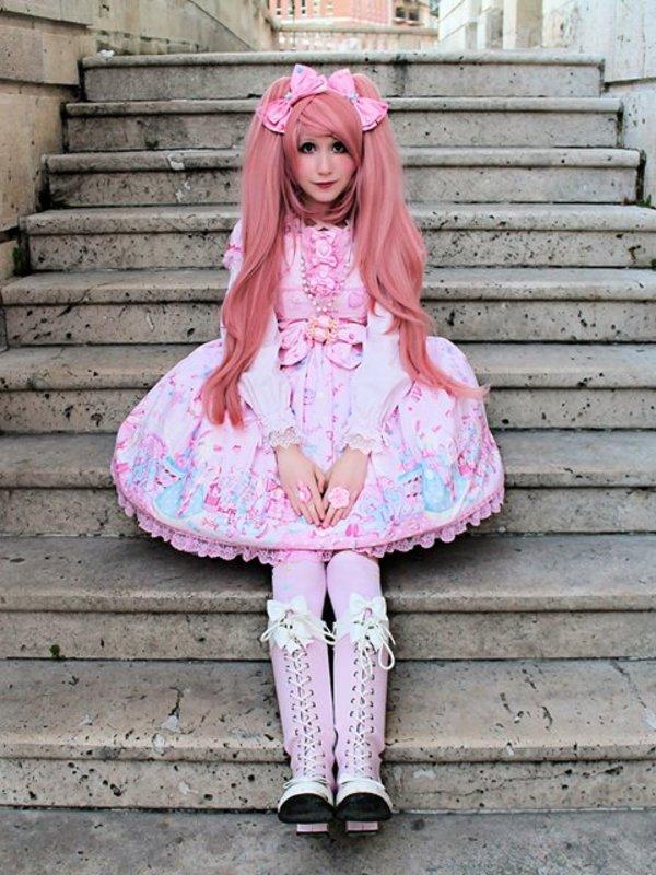 Mew Fairydoll's 「Sweet lolita」themed photo (2018/02/13)