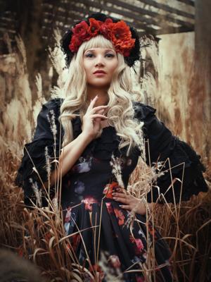 Alexandra Dorothea's 「Lolita」themed photo (2018/02/14)