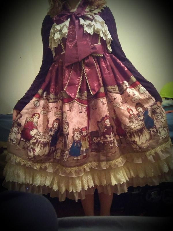 是ClassicalChloe以「Classic Lolita」为主题投稿的照片(2018/02/14)