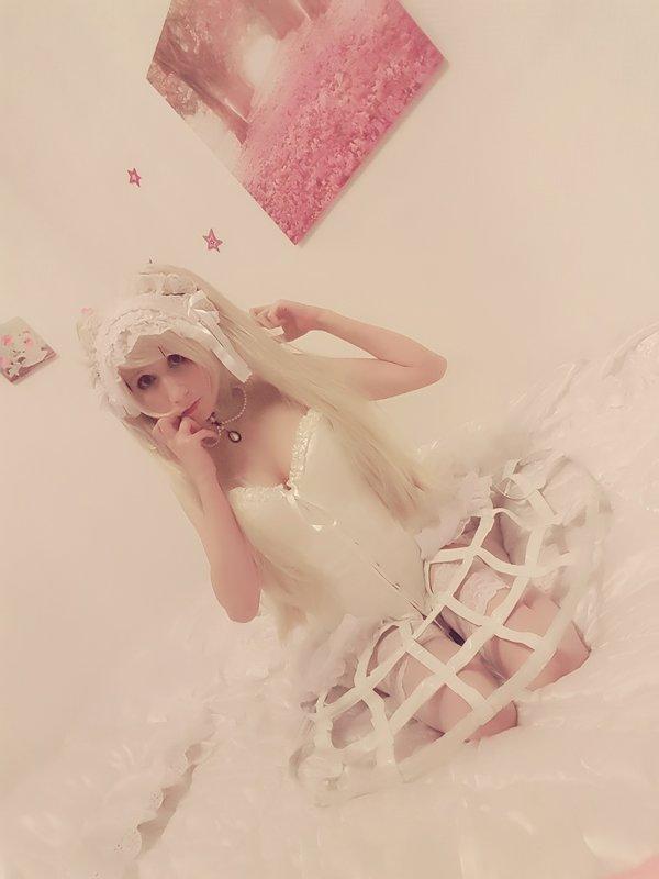Mew Fairydoll's 「Ero Lolita」themed photo (2018/02/14)