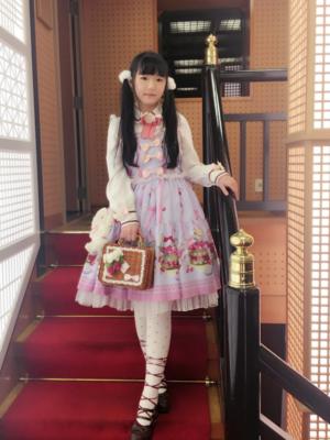 舞の「Sweet lolita」をテーマにしたコーディネート(2018/02/14)