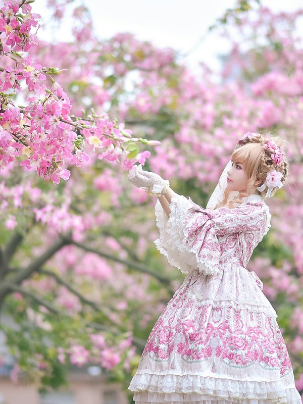 YELL雁雁子の「Angelic pretty」をテーマにしたコーディネート(2018/02/15)