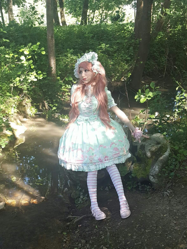Mew Fairydoll's 「Sweet lolita」themed photo (2018/02/15)
