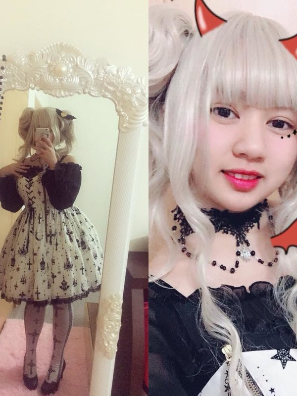 林柔萱の「Angelic pretty」をテーマにしたコーディネート(2018/02/17)