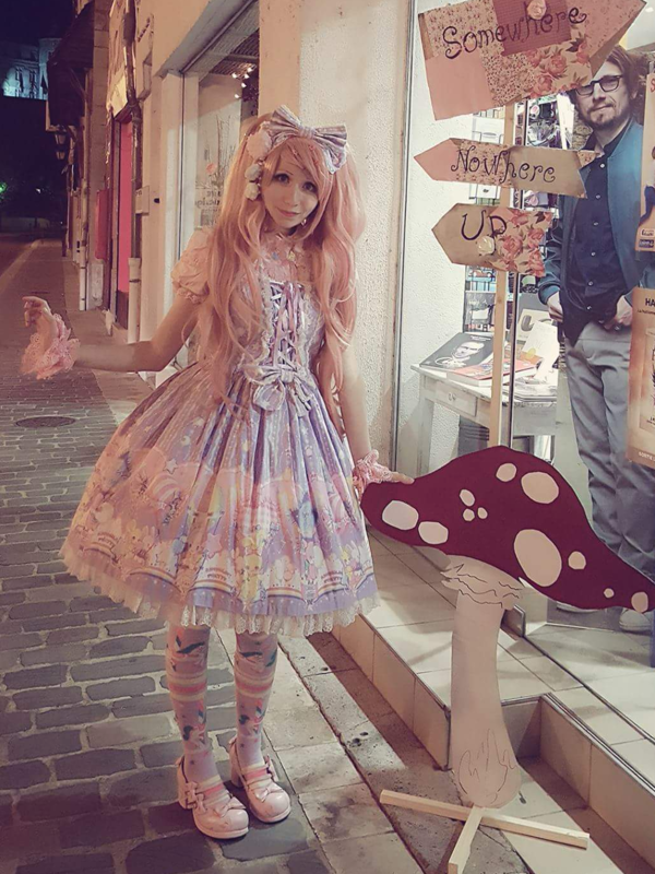 Mew Fairydoll's 「Angelic pretty」themed photo (2018/02/17)