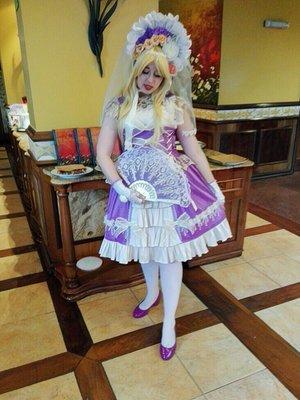 @Nanami_py's 「Lolita」themed photo (2018/02/17)