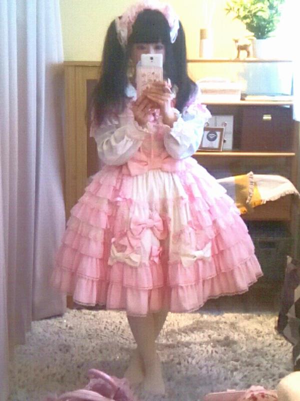 是モヨコ以「Angelic pretty」为主题投稿的照片(2018/02/18)