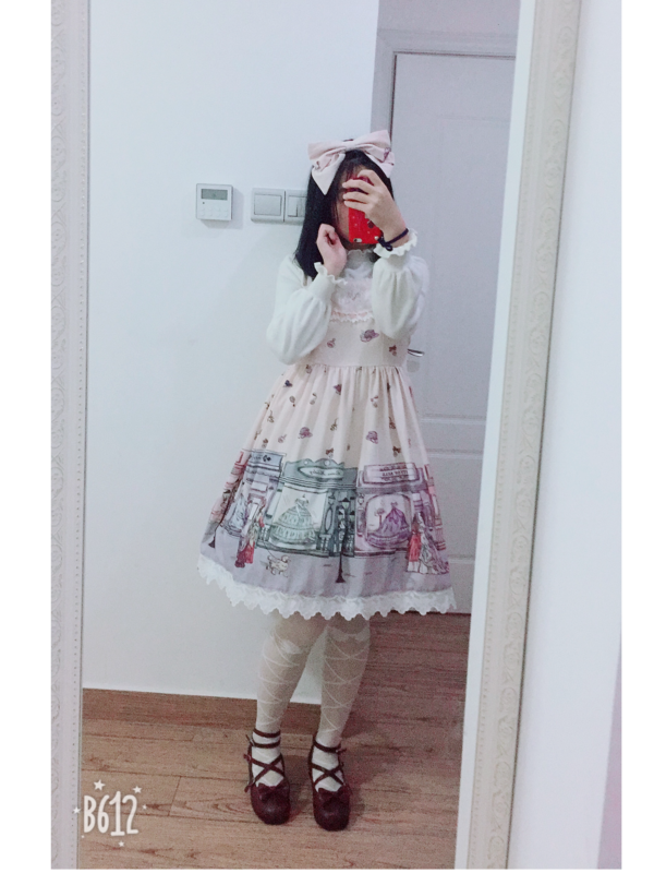 Sui 's 「Lolita」themed photo (2018/02/19)