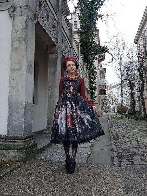 Kia Roseの「Inori」をテーマにしたコーディネート(2018/02/19)
