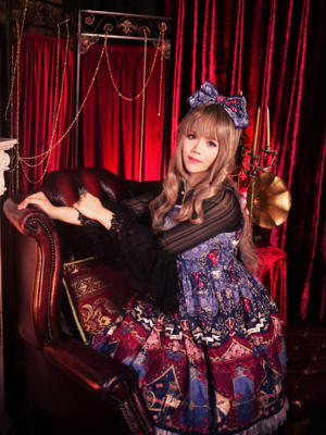 Sachi's 「Angelic pretty」themed photo (2018/02/19)