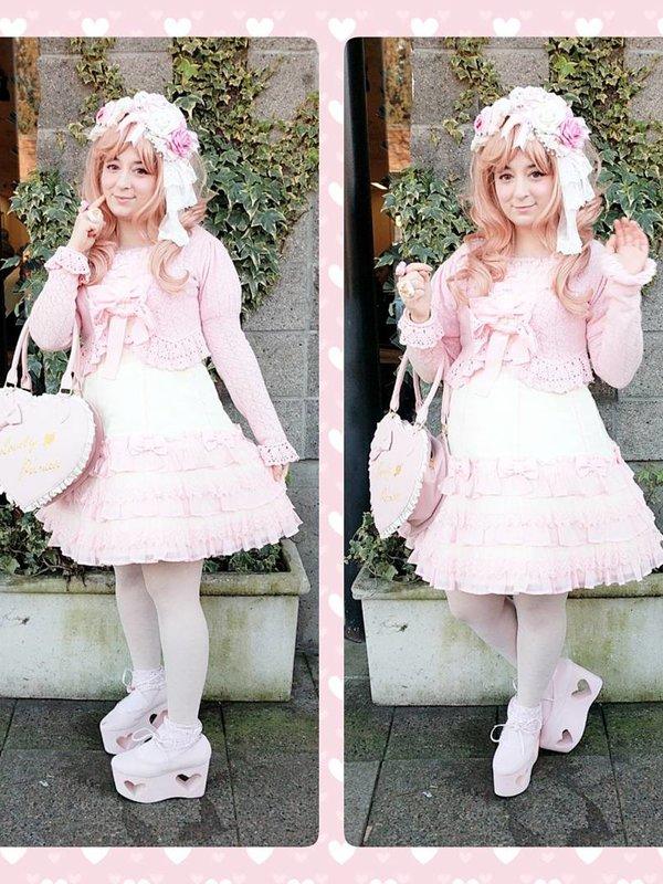 Roselle Himeの「Angelic pretty」をテーマにしたコーディネート(2018/02/19)