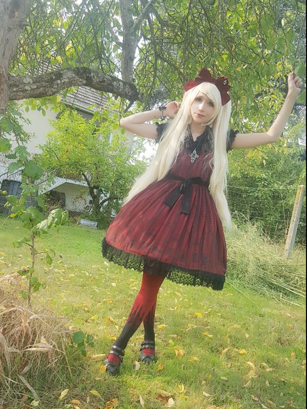 Mew Fairydollの「Gothic Lolita」をテーマにしたコーディネート(2018/02/18)