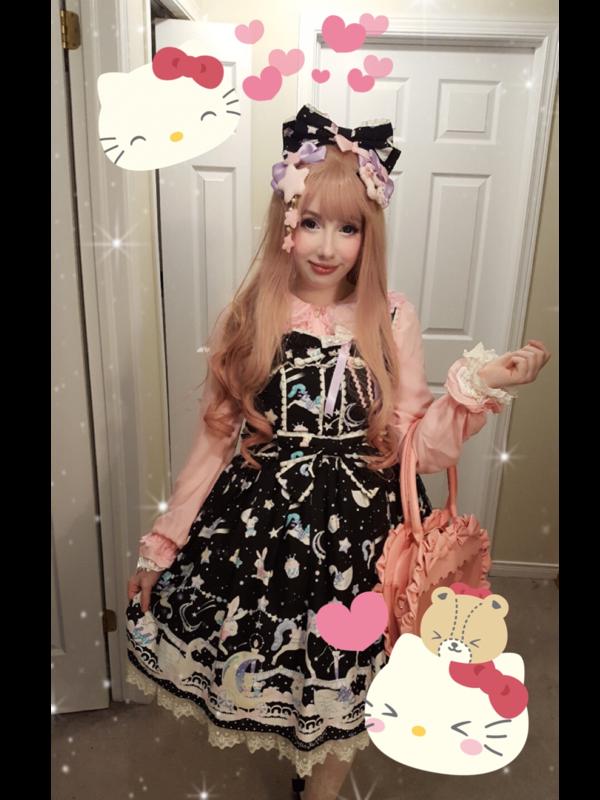 Nanichi's 「Angelic pretty」themed photo (2018/02/22)