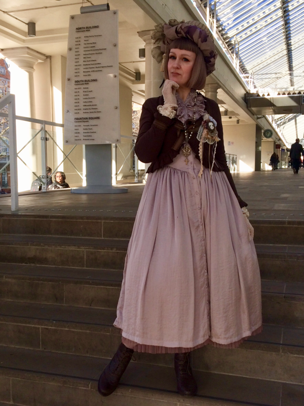 Violetnoirの「Classic Lolita」をテーマにしたコーディネート(2018/02/22)