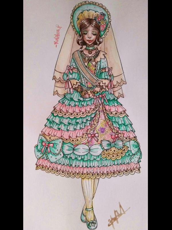 是Yulitza.p以「Lolita fashion」为主题投稿的照片(2018/02/24)