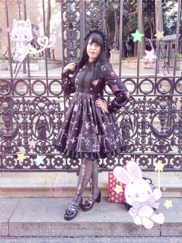 是YamiSwan以「Lolita」为主题投稿的照片(2018/02/25)
