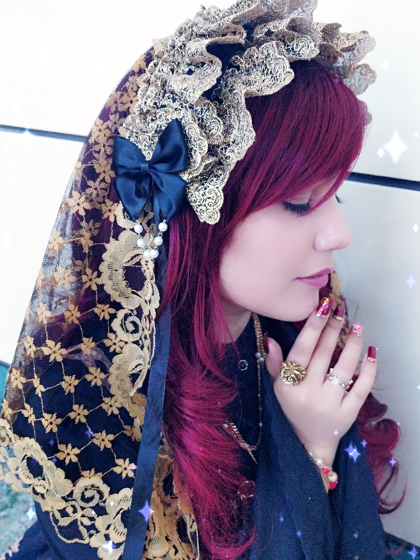 Hachiの「Lolita」をテーマにしたコーディネート(2018/02/27)