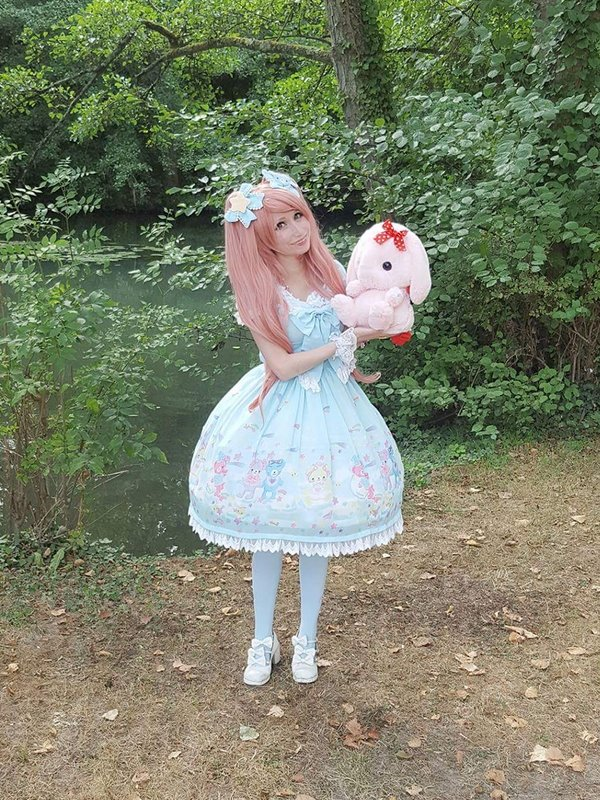 Mew Fairydoll's 「Sweet lolita」themed photo (2018/02/27)