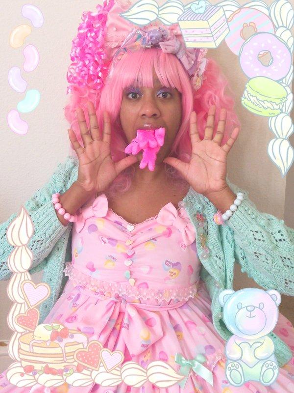 The Kawaii Nurse's 「Lolita」themed photo (2018/03/01)
