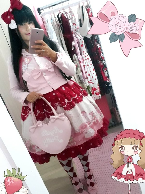 Ana Carolina Kusukiの「Angelic pretty」をテーマにしたコーディネート(2018/03/01)
