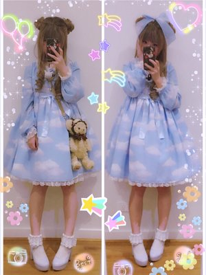 Hana's 「Angelic pretty」themed photo (2016/11/04)