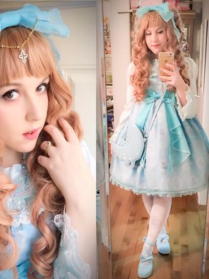 Sugar Senshi's 「Angelic pretty」themed photo (2016/11/04)