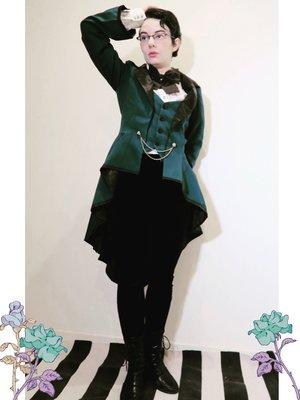 Gravelvetの「Gothic Lolita」をテーマにしたコーディネート(2018/03/04)
