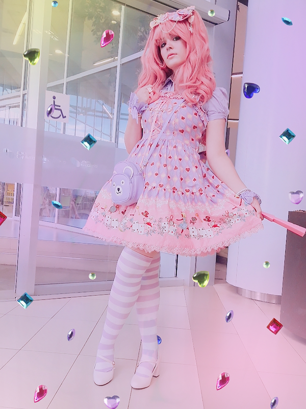 Sandra Vallejos's 「Lolita」themed photo (2018/03/06)