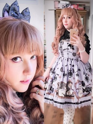 Sugar Senshi's 「Angelic pretty」themed photo (2016/11/07)