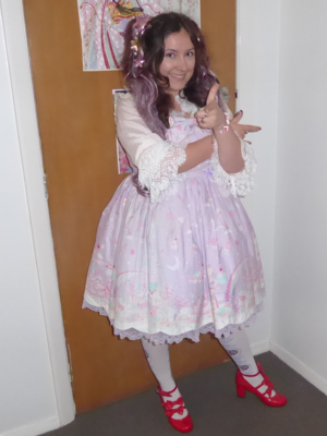 Karaverite's 「Angelic pretty」themed photo (2018/03/06)