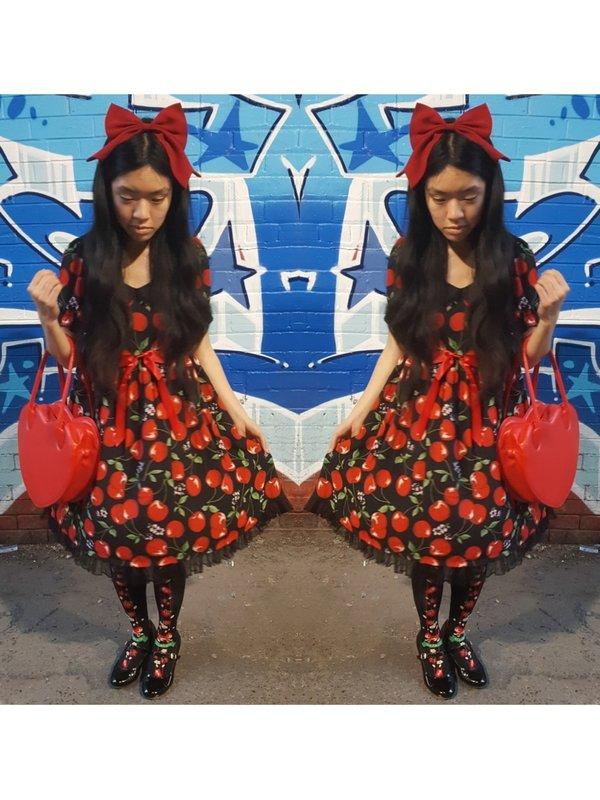 是Olivia Nguyen以「Lolita fashion」为主题投稿的照片(2018/03/08)