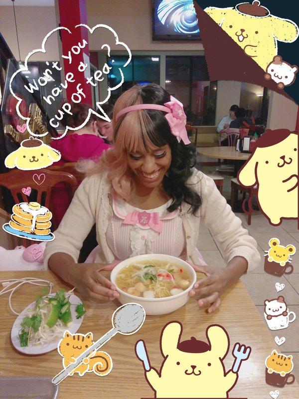 The Kawaii Nurse's 「Pom Pom Purin」themed photo (2018/03/08)