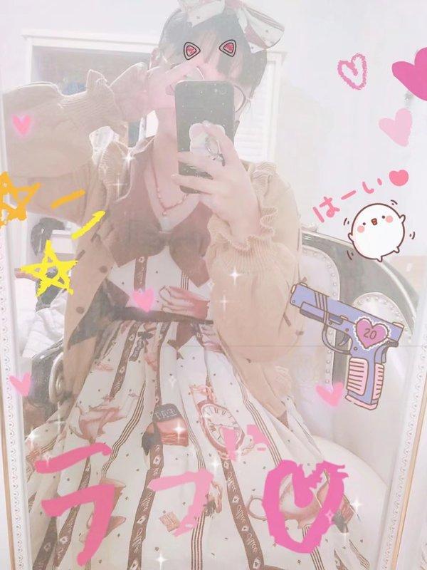 仙女那个刚's 「Lolita」themed photo (2018/03/12)